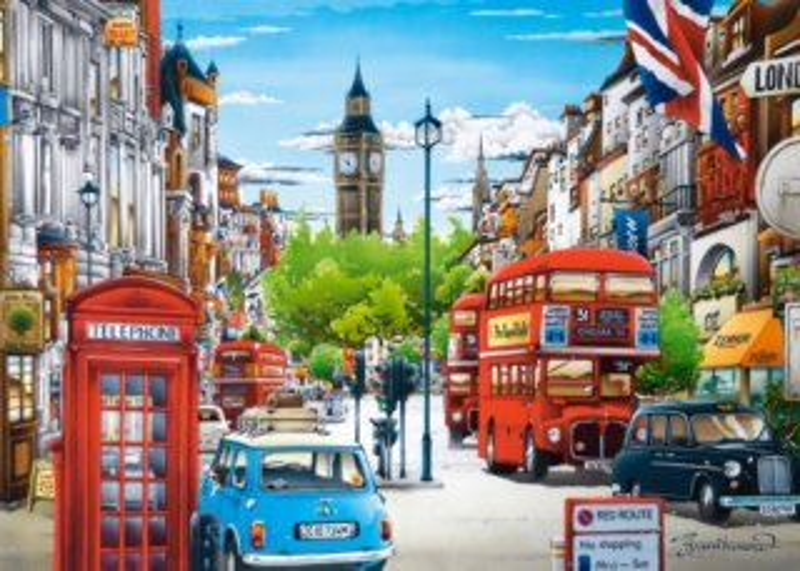 CASTORLAND Puzzle Londýn, Velká Británie 1500 dílků