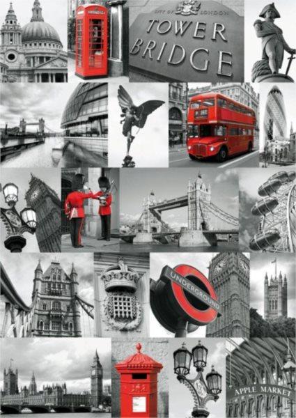 Puzzle RAVENSBURGER 1000 dílků - Londýn