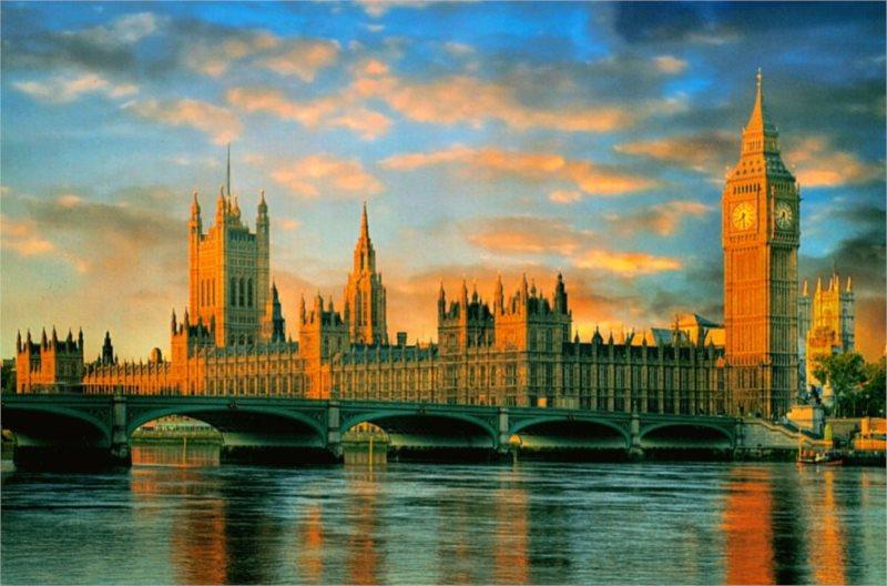 Puzzle CLEMENTONI 1000 dílků - Westminsterský palác, Londýn