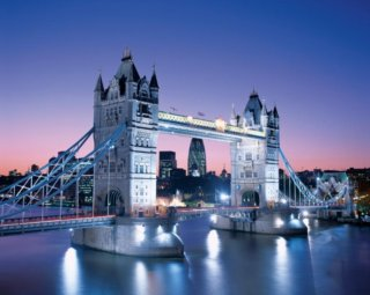 Puzzle CLEMENTONI 3000 dílků - Tower Bridge, Londýn