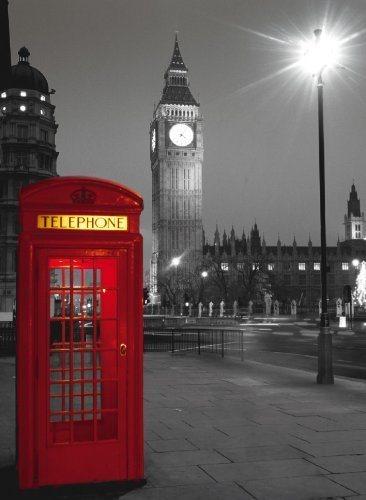 CLEMENTONI Puzzle Londýnská telefonní budka 500 dílků