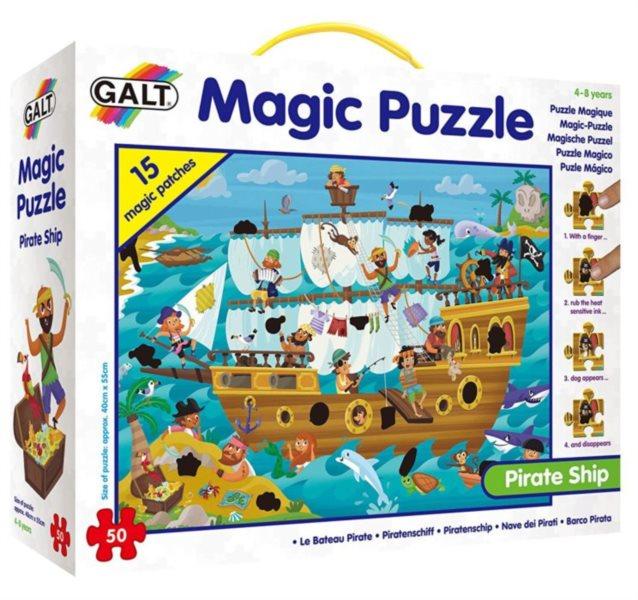 GALT Magické puzzle Pirátská loď 50 dílků