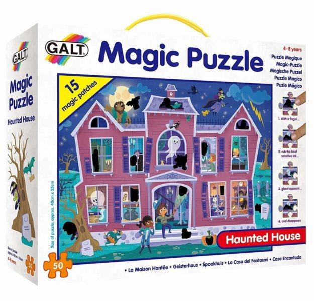 GALT Magické puzzle Strašidelný dům 50 dílků