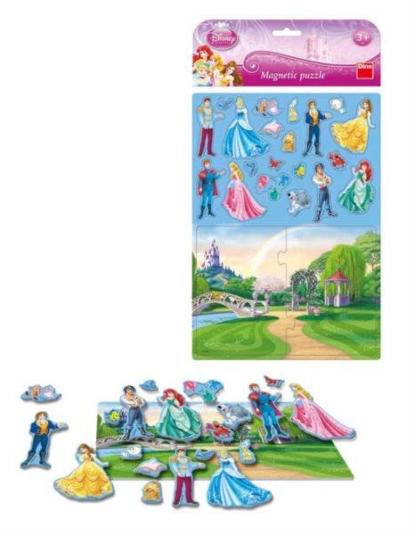Dětské magnetické puzzle DINO 24 dílků - Disney páry