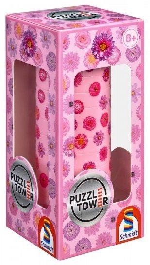 SCHMIDT 3D Puzzle Tower Květiny