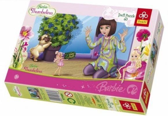 Puzzle pro děti TREFL 60 dílků - Barbie Thumbelina