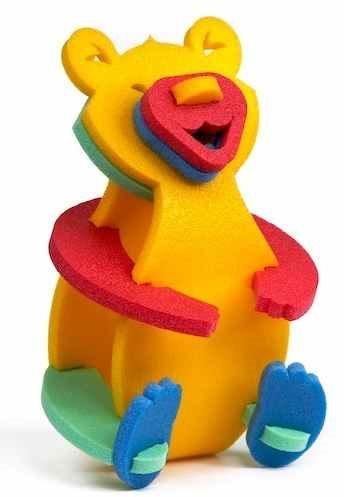 MALÝ GÉNIUS 3D puzzle Medvídek 9 dílků