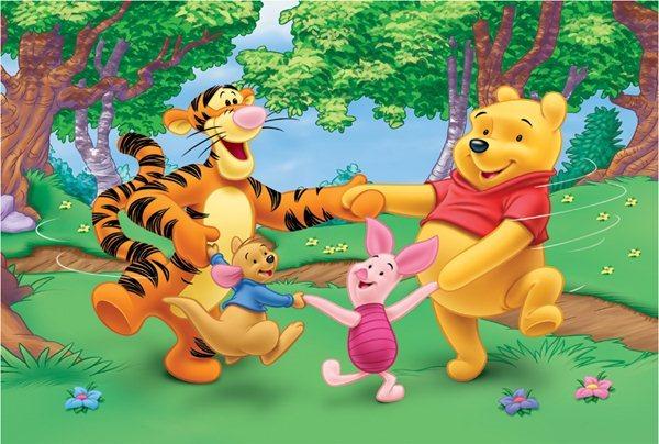 TREFL Puzzle Medvídek Pú: Tancování 30 dílků