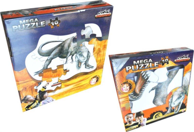 BONAPARTE Puzzle MEGA Didaco Dinosauři, T-Rex 10 dílků