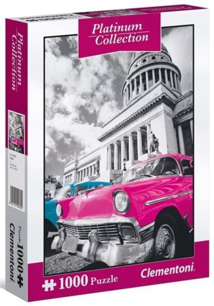 CLEMENTONI Metalické puzzle Kuba 1000 dílků