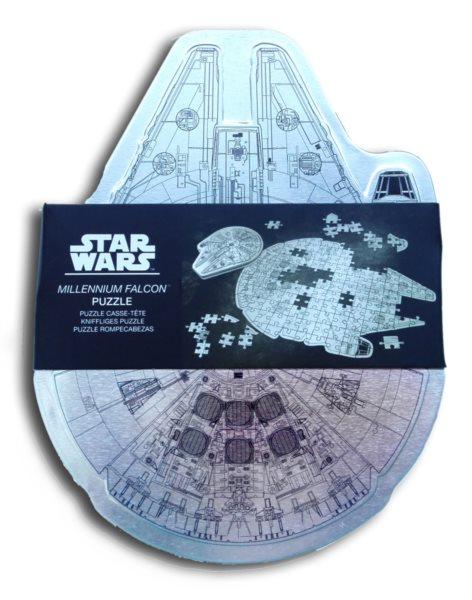 Metalické puzzle Star Wars: Millenium Falcon 201 dílků