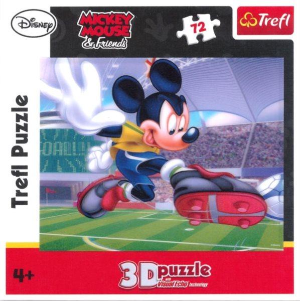 TREFL Puzzle Mickey Mouse a přátelé 3D 72 dílků