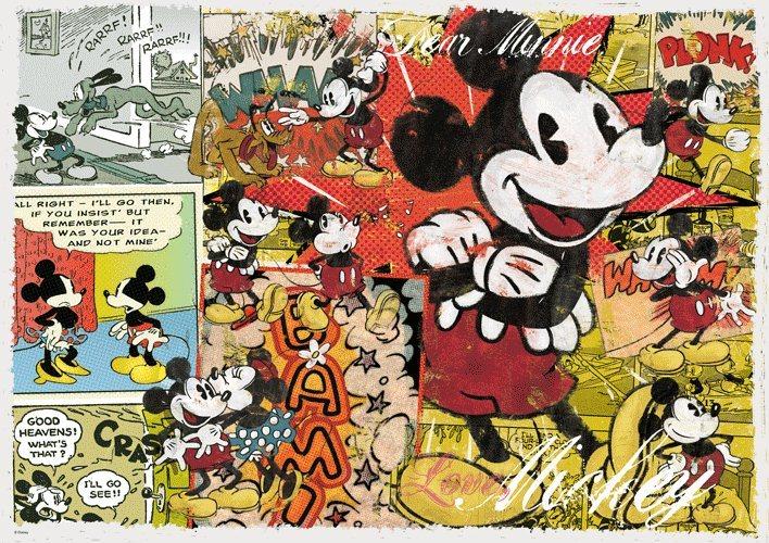 Puzzle TREFL 1000 dílků - Mickey Mouse Retro