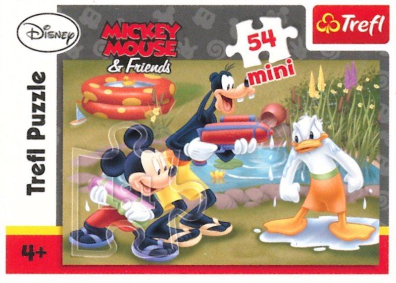 TREFL Puzzle Mickey Mouse: U vody 54 dílků