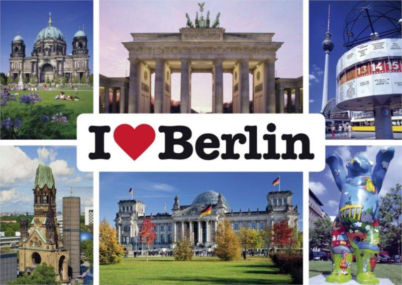 Puzzle SCHMIDT 1000 dílků - Miluji Berlín