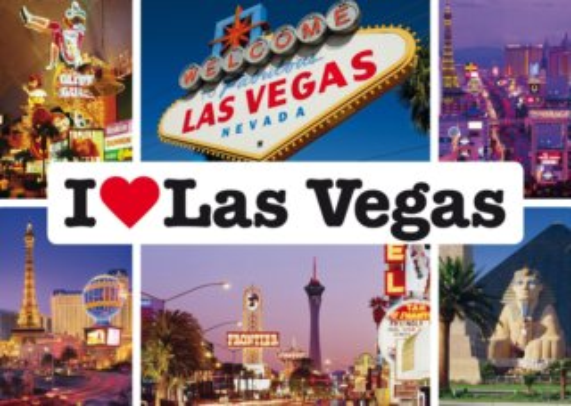 Puzzle SCHMIDT 1000 dílků - Miluji Las Vegas