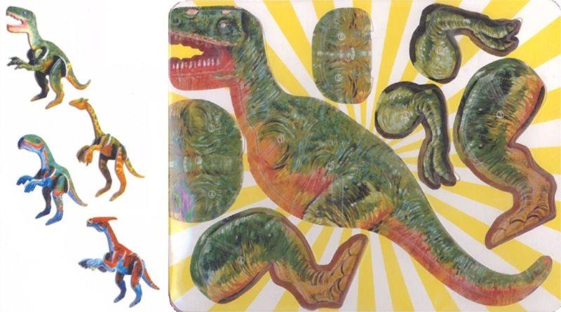 3D puzzle Sada dinosaurů 1