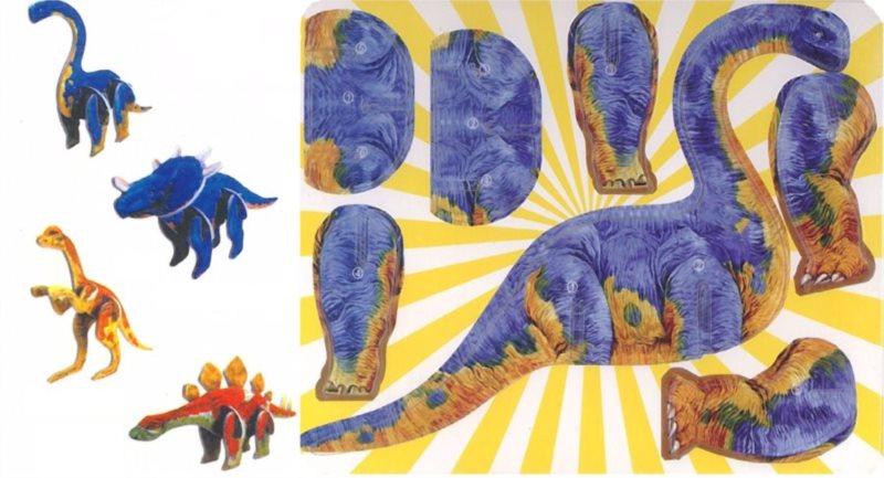3D puzzle Sada dinosaurů 2
