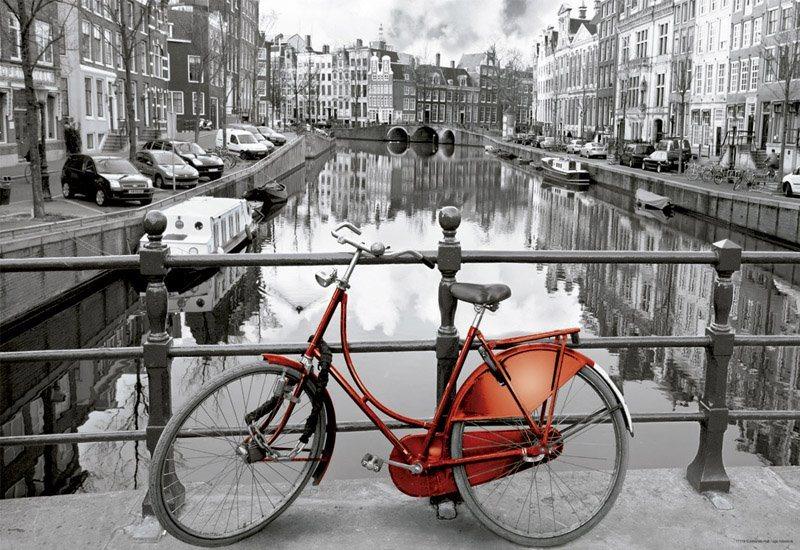 Miniaturní puzzle EDUCA 17116 Amsterdam, Nizozemsko 1000 dílků