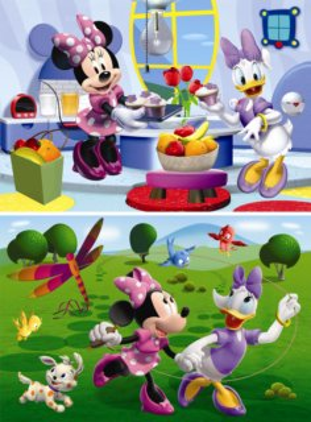 DINO Puzzle Minnie 2x66 dílků