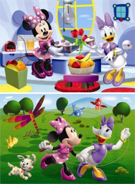 Dětské puzzle DINO2x 66 dílků - Minnie 2v1