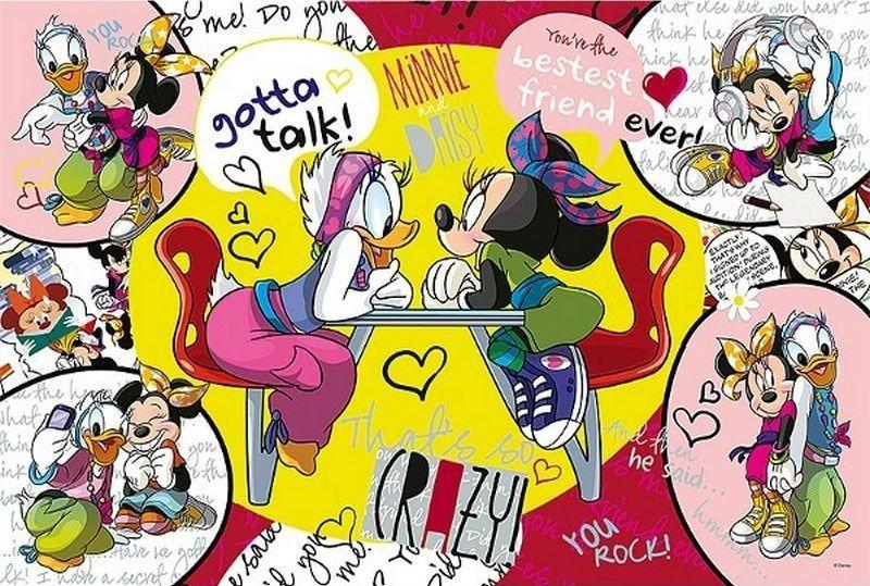 TREFL Puzzle Minnie a Daisy: Velké přátelství 260 dílků