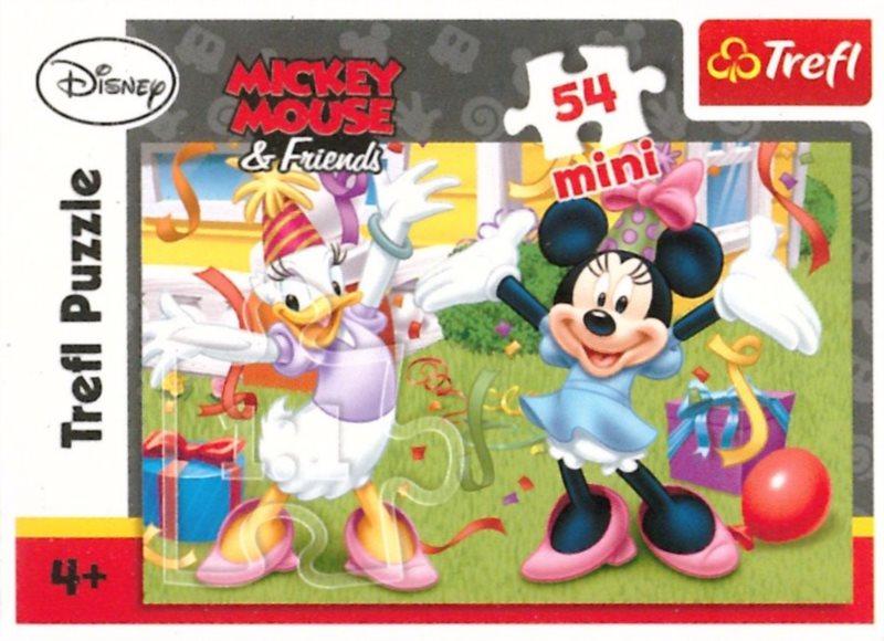 TREFL Puzzle Minnie a Daisy: Oslava 54 dílků