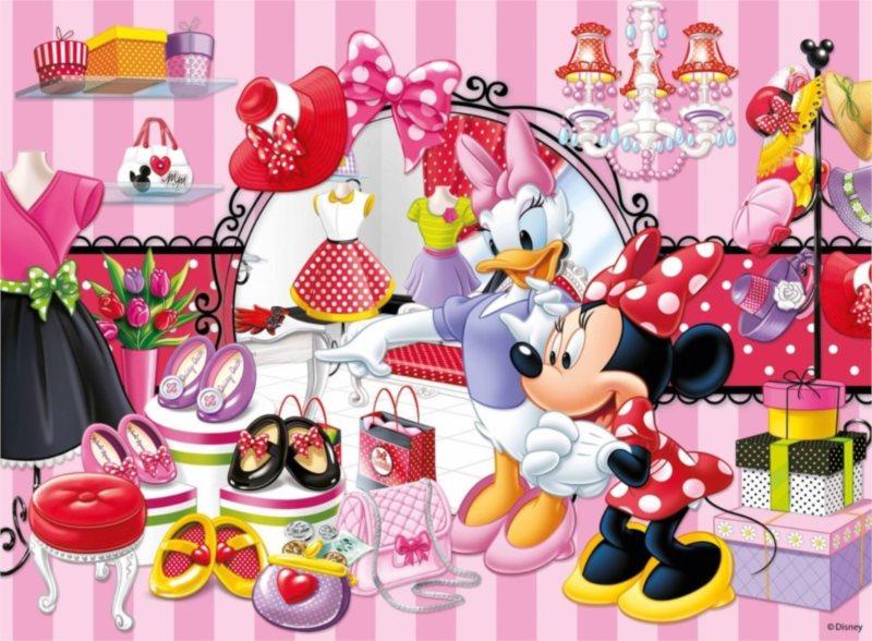 Dětské puzzle RAVENSBURGER 150 dílků - Minnie na nákupech XXL
