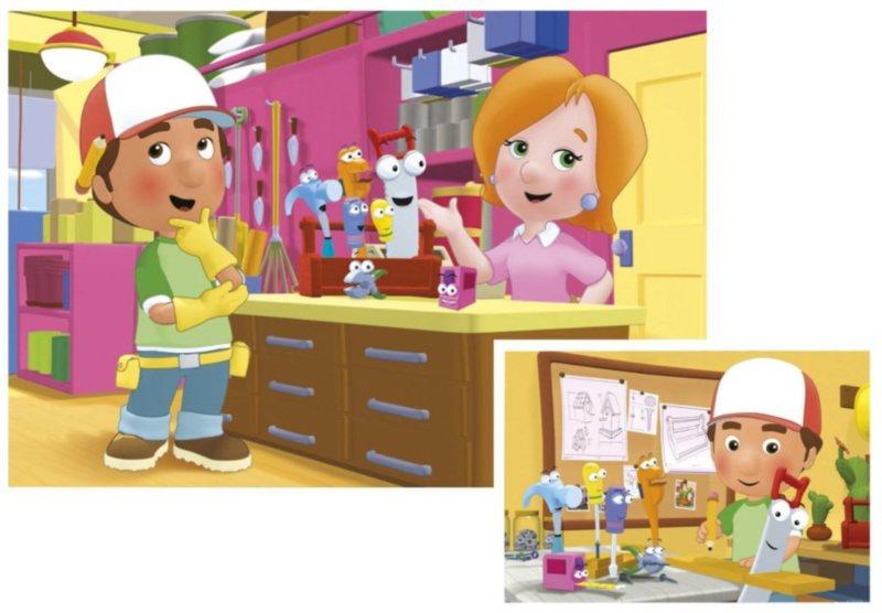 Ravensburger Dino Toys Handy Manny 2x20 dílků