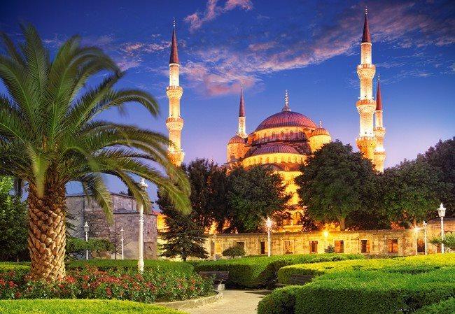 CASTORLAND Puzzle Modrá mešita, Turecko 1000 dílků
