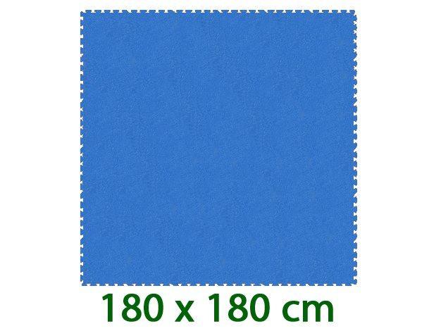 MALÝ GÉNIUS Modrý pěnový koberec XL 8mm (59,5x59,5)