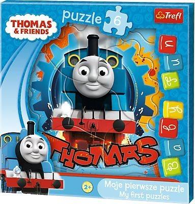 TREFL Moje první puzzle: Mašinka Tomáš 6 dílků