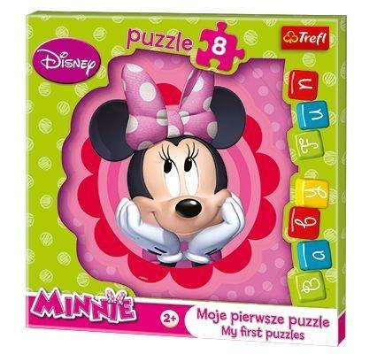 TREFL Moje první puzzle: Minnie 8 dílků