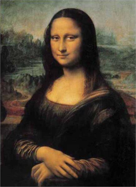 Puzzle EDITIONS RICORDI 1000 dílků - da Vinci, Mona Lisa