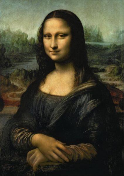 Puzzle DINO 1500 dílků - Mona Lisa, Leonardo da Vinci