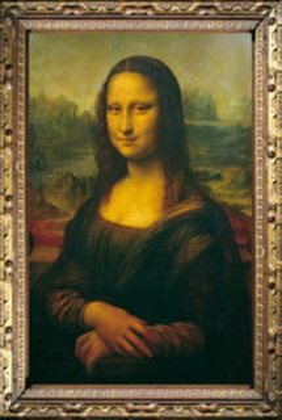 Puzzle TREFL 1000 dílků - Mona Lisa (Leonardo da Vinci)