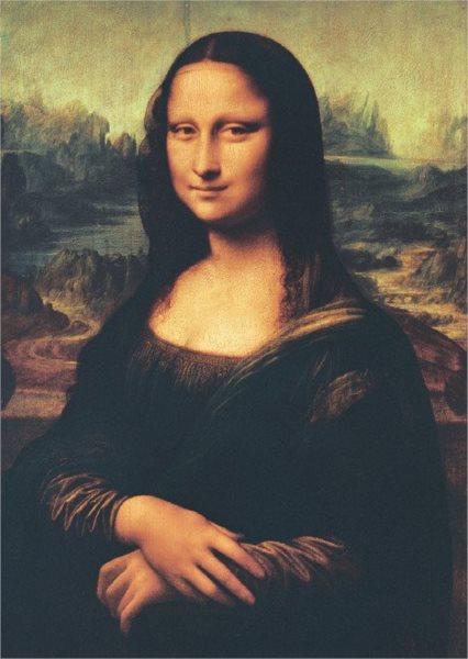 Puzzle PARTY PUZZLE 1000 dílků - Mona Lisa