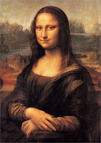 Puzzle CLEMENTONI 1000 dílků - Leonardo da Vinci, Mona Lisa