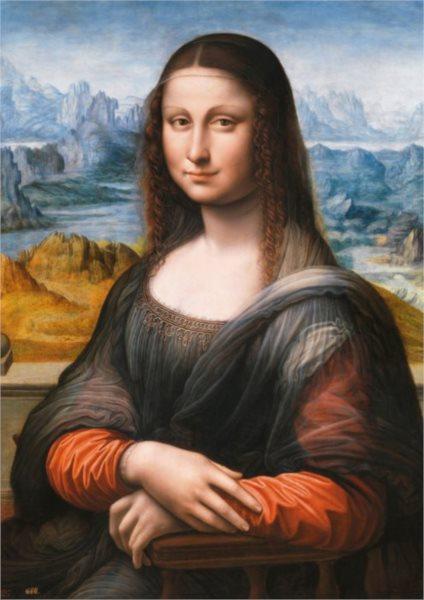 EDUCA 16011 Mona Lisa (Muzeum Prado) - puzzle 1500 dílků