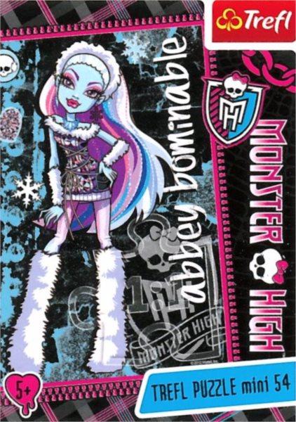 Dětské puzzle TREFL 54 dílků - Monster High: Abbey Bominable