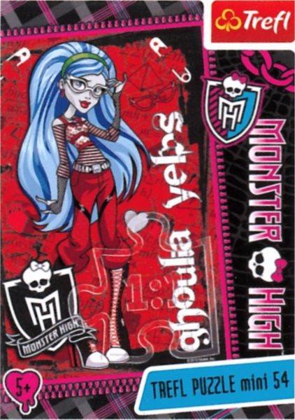Dětské puzzle TREFL 54 dílků - Monster High: Ghoulia Yelps