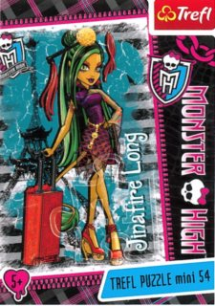 Dětské puzzle TREFL 54 dílků - Monster High: Jinafire Long