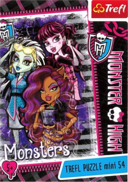 TREFL Puzzle Monster High: Monsters 54 dílků