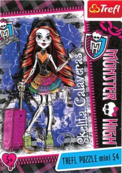 TREFL Puzzle Monster High: Skelita Calaveras 54 dílků