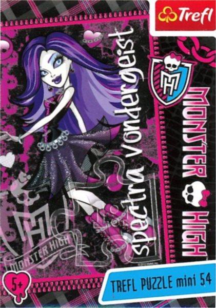 Dětské puzzle TREFL 54 dílků - Monster High: Spectra Vondergeist