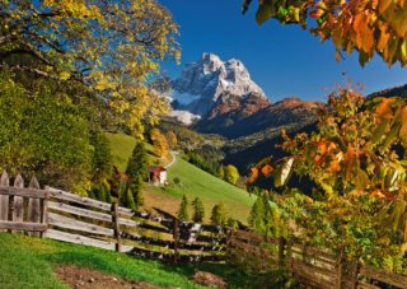 Puzzle RAVENSBURGER 1000 dílků - Monte Pelmo, Dolomity