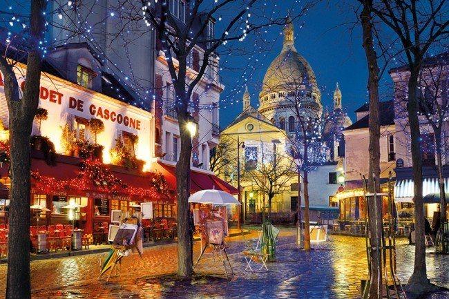 Puzzle CLEMENTONI 1500 dílků - Montmartre, Paříž, Francie