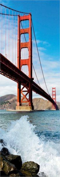 Vertikální puzzle HEYE 1000 dílků - Most Golden Gate, USA