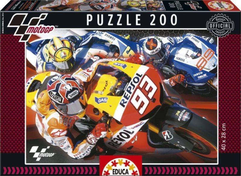Dětské puzzle EDUCA 200 dílků - MotoGP
