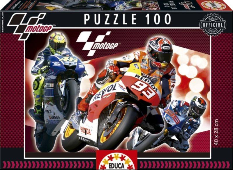 EDUCA Puzzle MotoGP 100 dílků